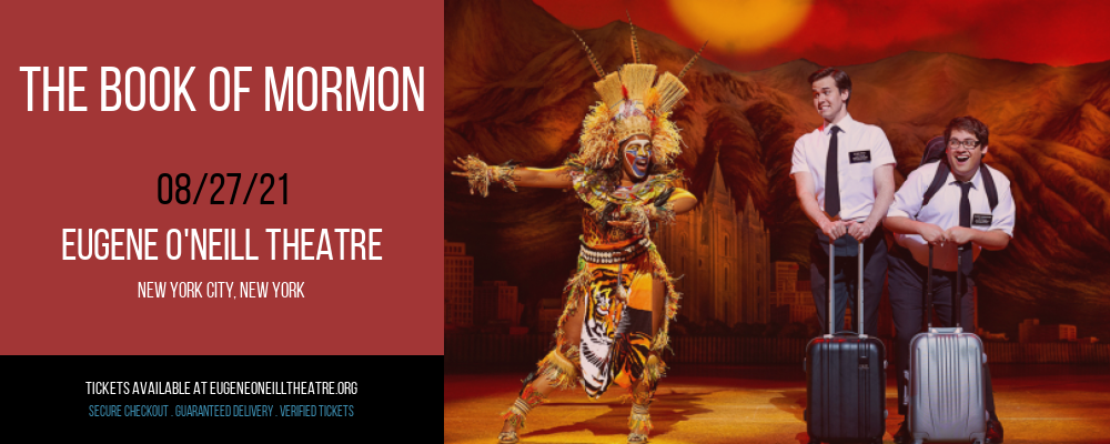 The Book of Mormon [CANCELLED] at Eugene O'Neill Theatre